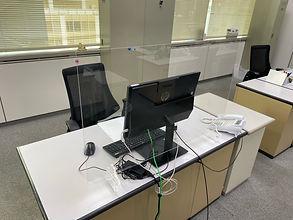 デスク用W980×H600【設置例①】