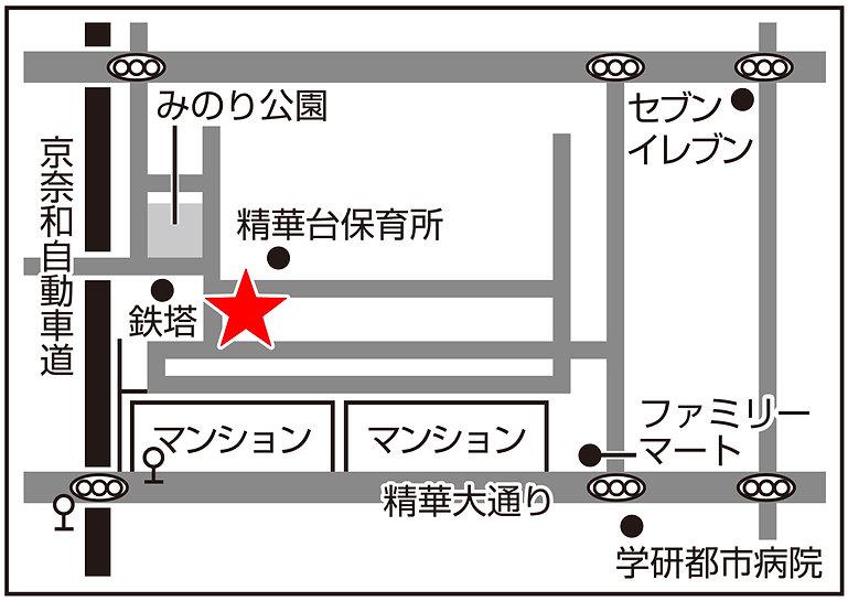 京都クリニック地図