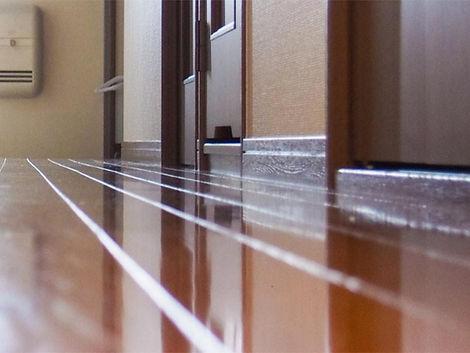 廊下幅などスペース拡張