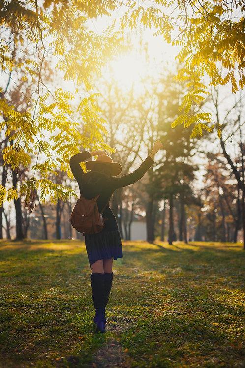 Soin énergétique vibrer la joie et le plaisir