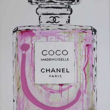 """#25 """"COCO CHANEL"""", 2019, 120x85cm"""
