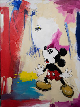 """#86 """"SCARED MICKEY"""""""