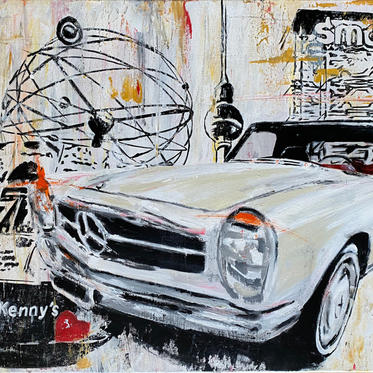 """#72 """"KENNY'S Collage"""", 2021, 80x60"""