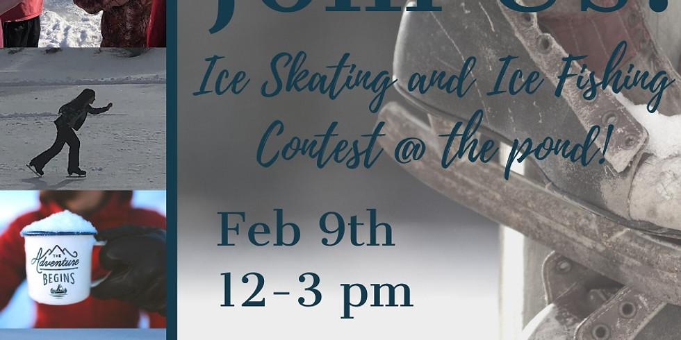 Ice Skating & Ice Fishing Contest