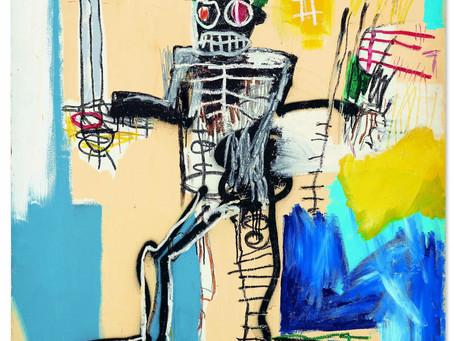 Basquiat Brings $41.9 Million, Even Amid Digital Gold Rush