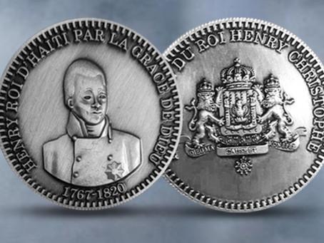 King Henry Christophe Commemorative Coin