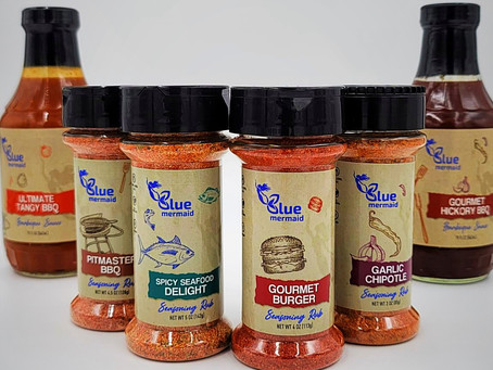 Blue Mermaid: Providing Healthy Coveted Haitian Spices and Seasonings