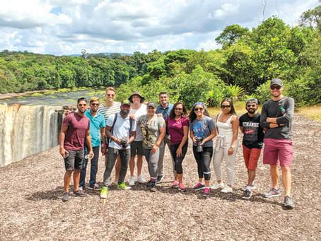 The Guyana Amazon Warriors: Meet the Wonder of Kaieteur Falls