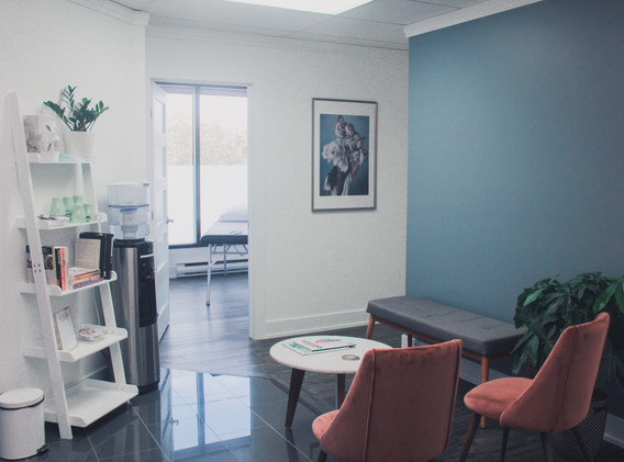 Reception | Bloom Integrative Health