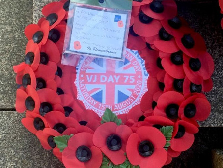 Sale Rotary Club marks the 75th  anniversary of V J Day