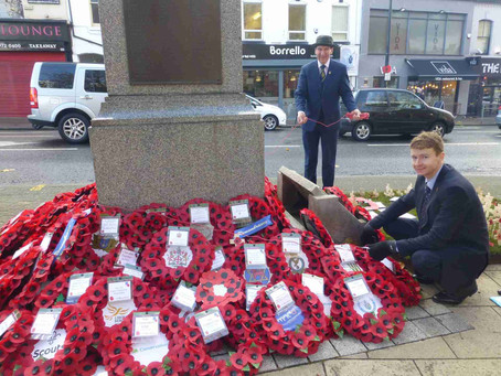 Poppy appeal - Empowering those in need through hands-on charitable projects