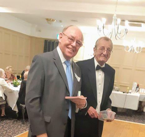 Raffle men! John Pilling and Peter Munda