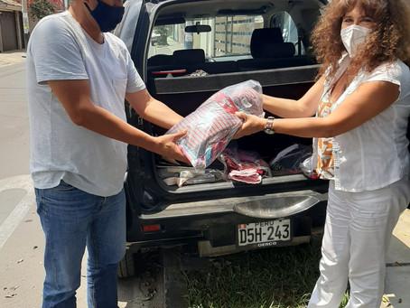 The Rotary Club of Sale donates to Refugio de la Esperanza centre in Lima