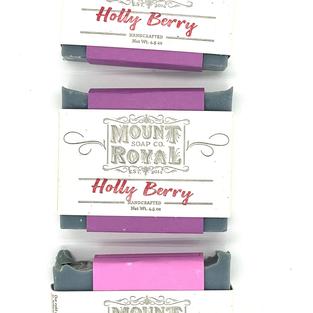 Holly Berry Bar Soap