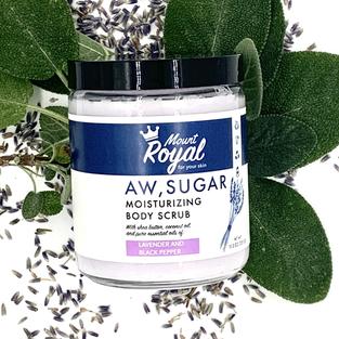 Lavender and Black Pepper Sugar Scrub
