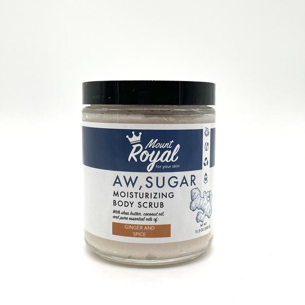 Ginger & Spice Sugar Scrub