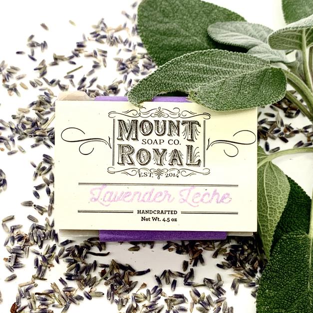 Lavender Leche bar soap