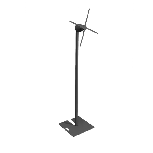 HyperVSN - Solo L with stand and baseplate