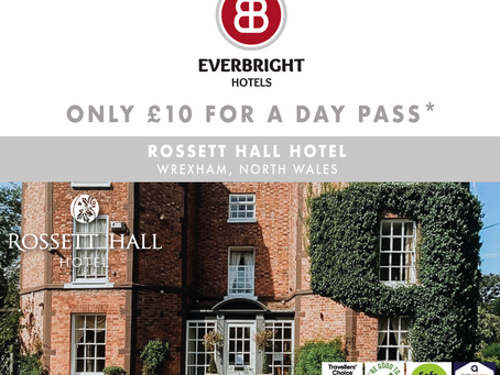 ONLY £10 FOR A DAY PASS AT ANY OF OUR HOTELS*