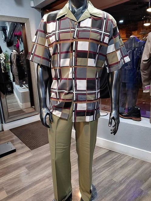 Olive Two Piece