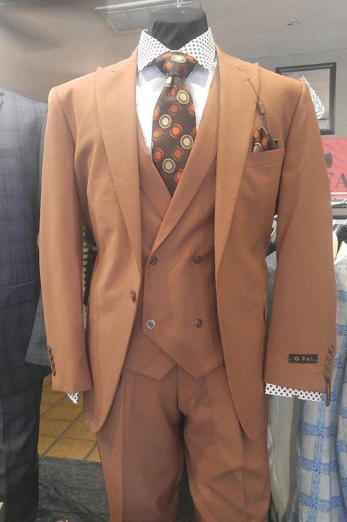 P & L Men's Three-Piece Suit