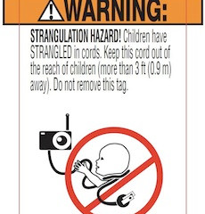 Baby monitor safety