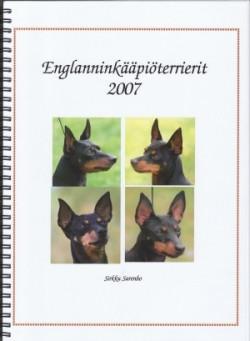 ENGLANNINKÄÄPIÖTERRIERIT 2007 -KIRJA