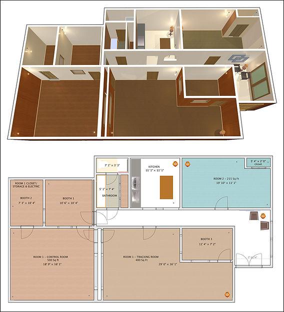 Route 2 - Render & Floorplan