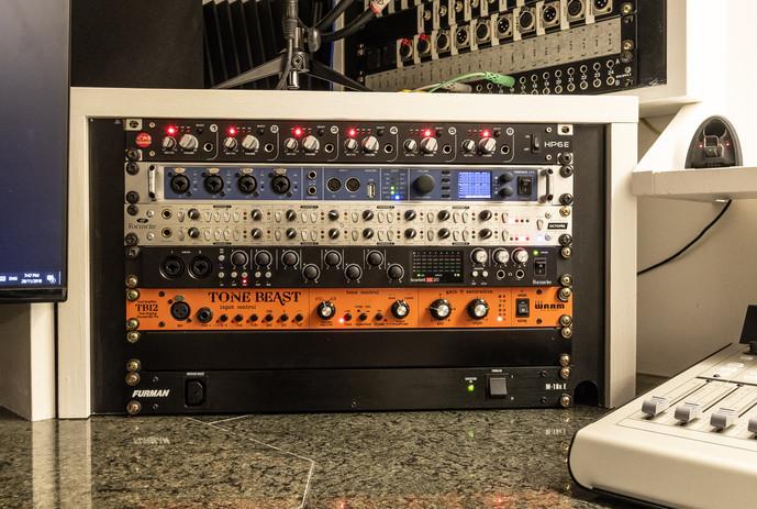 Black Wall Studios - Control Room