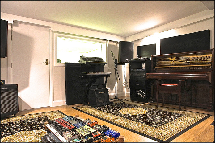 Black Wall Studio Live Room