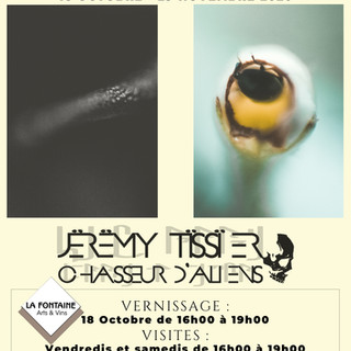 AFFICHE Exposition Jeremy Tissier Fontai