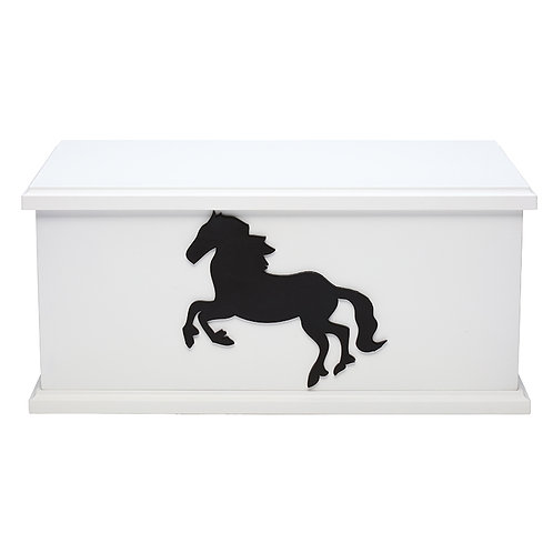 White Silhouette Ashes Box