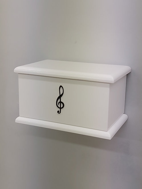 Note Silhouette Adults Ashes Box