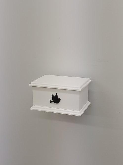 Bird Silhouette Pet Ashes Box