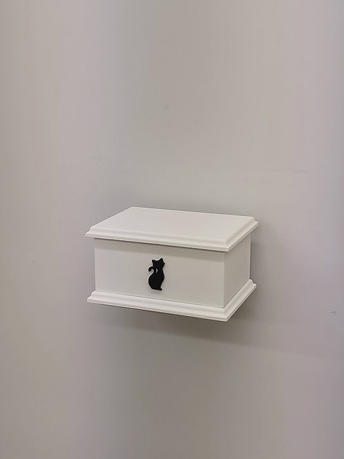 Cat Silhouette Pet Ashes Box