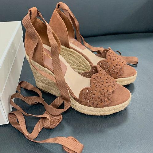 Sandálky Madeira - Tamaris -hnedé