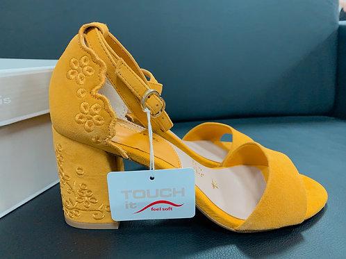 Sandálky Madeira - Tamaris - žlté