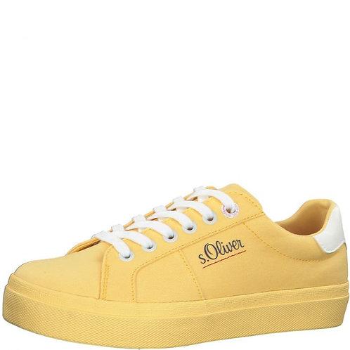 Tenisky žlté látkové S.OLIVER