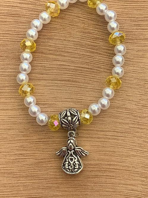 Prosperity Angel Crystal Bracelet