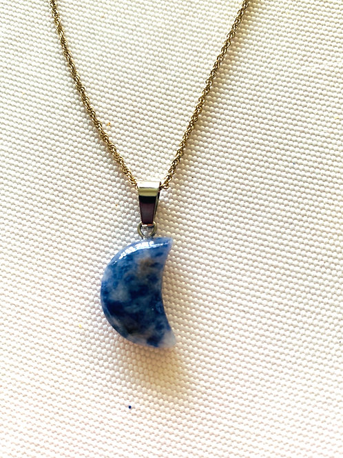 Lapis Lazuli Moon for Intuition & Communication