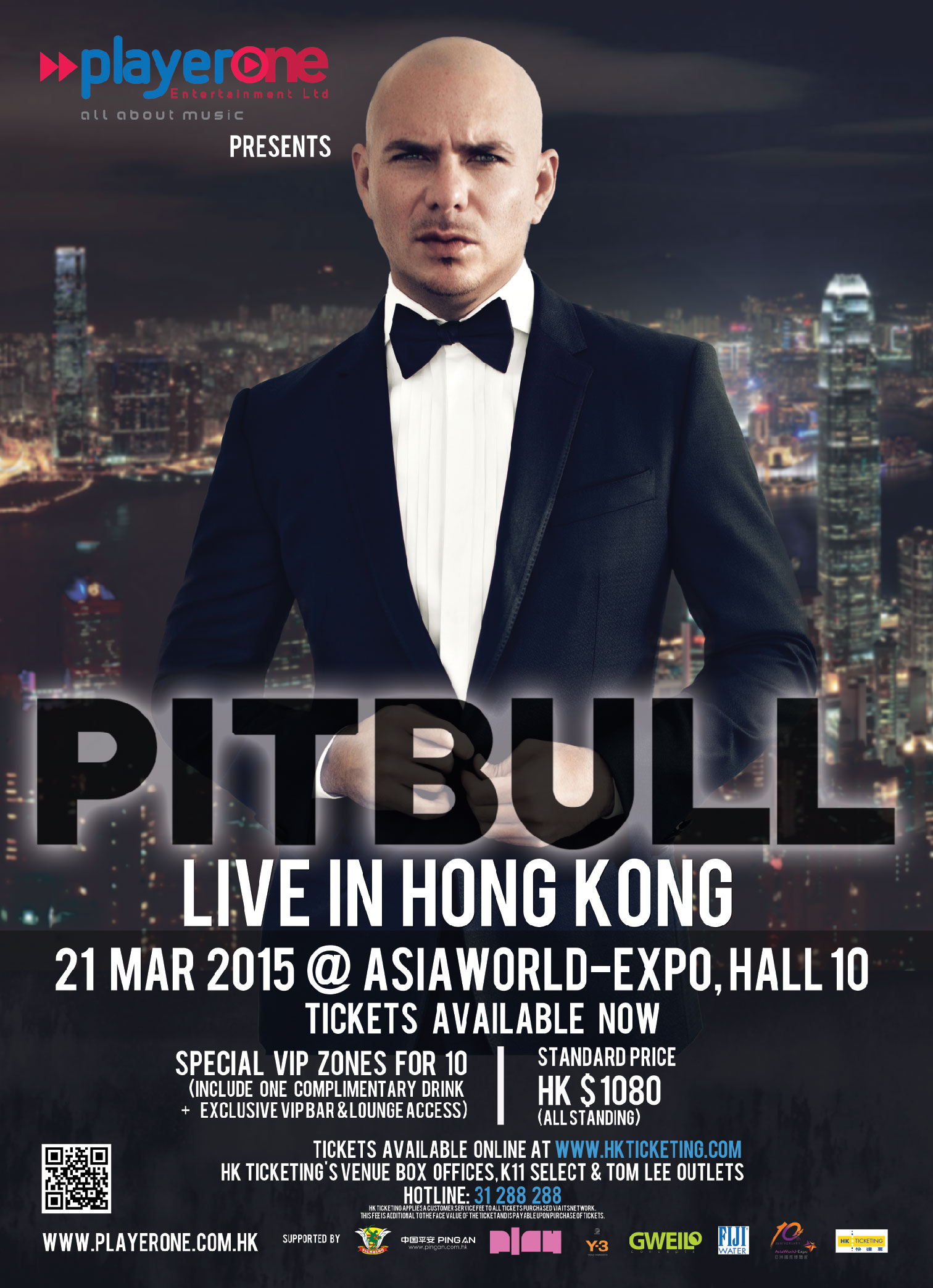 Pitbull Live In Hong Kong