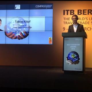 Keynote, Best Exhibitor Award ITB Berlin