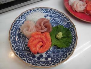 美味しい、お刺身定食!!