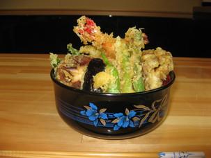 やっぱり1番は天丼/穴子天950円
