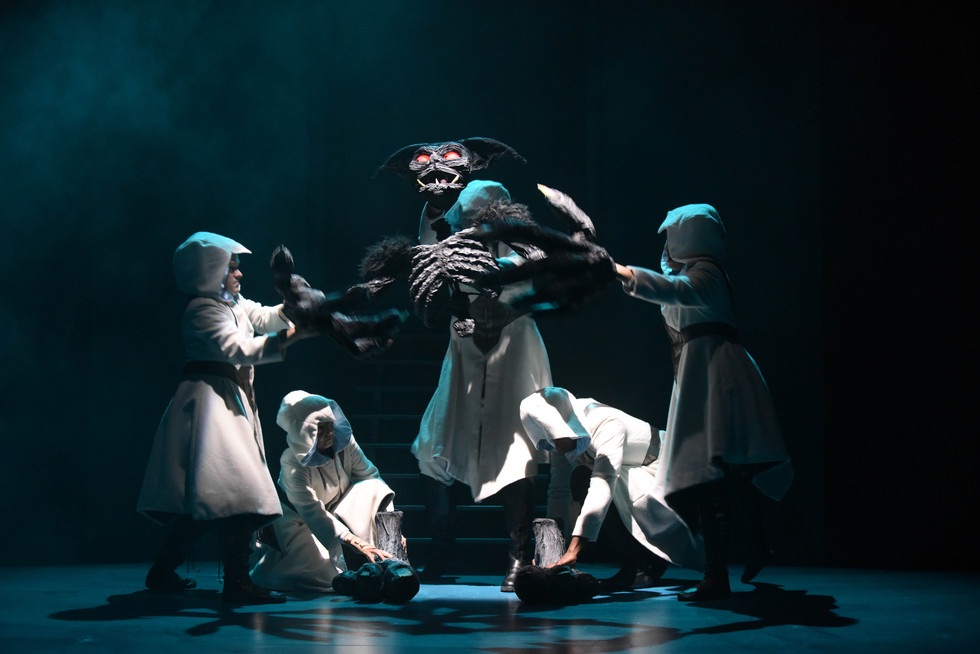 """the stage ★★★★★ """"Theatrical storytelling at its finest"""""""
