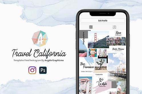Template PSD - California Dreams