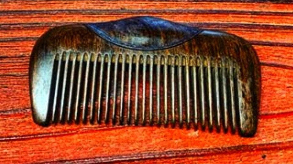 Handmade Mahogany beard comb