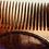 Thumbnail: Handmade Mahogany beard comb