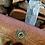 Thumbnail: Damascus camp knife with sheath
