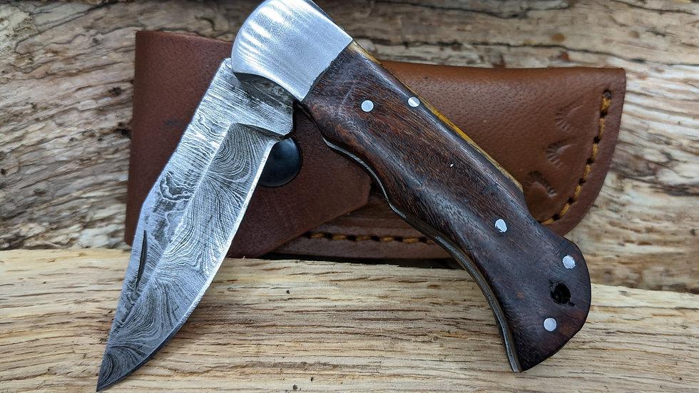 Damascus Pocket / Folding Knife